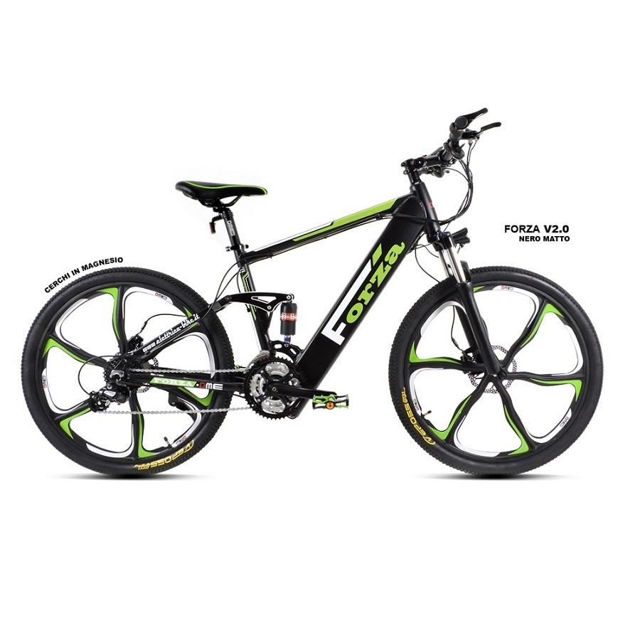 "Bicicletta elettrica 26"" Mountain-bike pedalata assistita Forza v2.0"