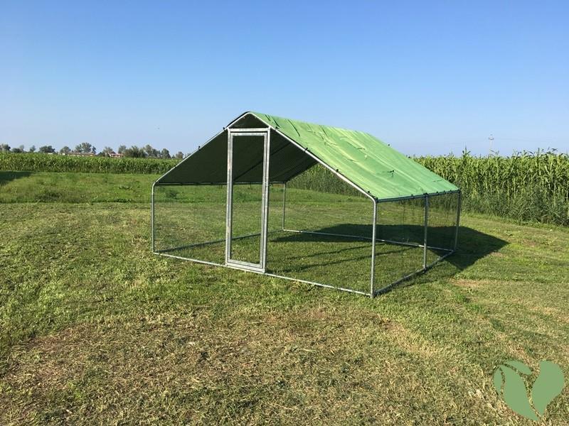 Gazebo Da Giardino 4x4 : Recinto per animali domestici da giardino e cortile modello l
