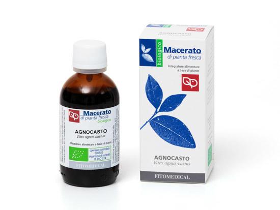 Fitomedical - Agnocasto Macerato da pianta fresca bio