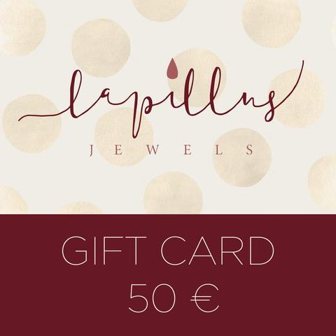 GIFT CARD LAPILLUS