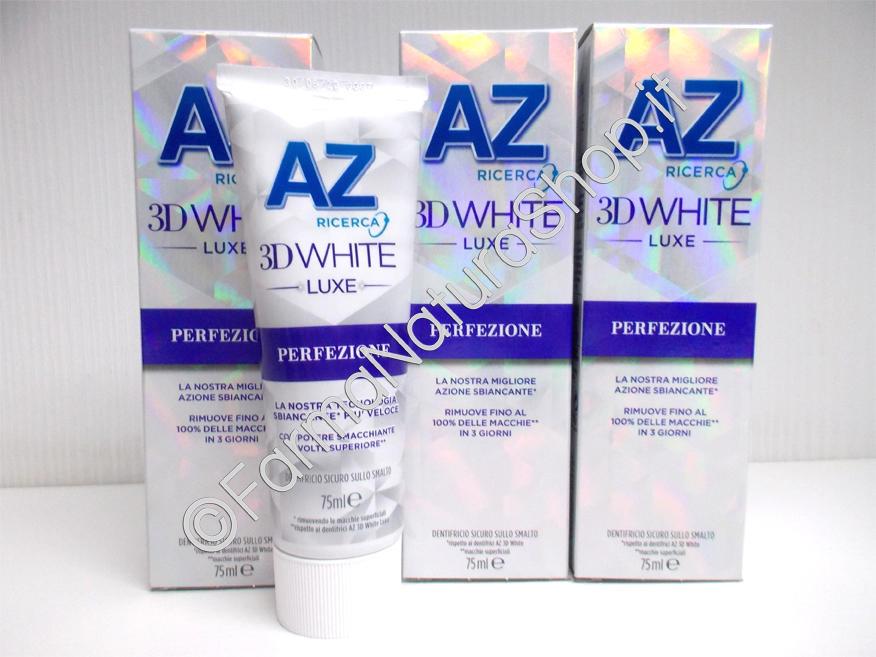 Dentifricio AZ 3D White Luxe Perfezione Azione Sbiancante