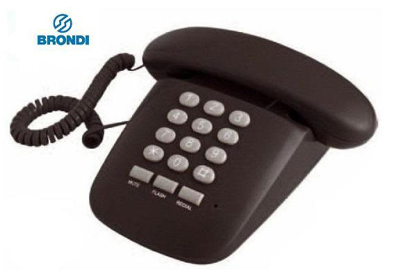 BRONDI Sole telefono fisso / NERO - BIANCO