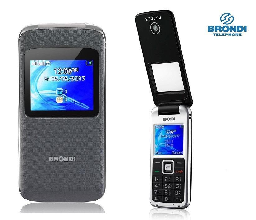 BRONDI cellulare Window / GRIGIO - NERO - BLU