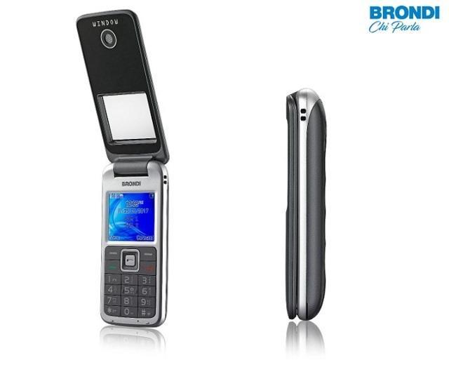 Cellulare WINDOW Brondi con flip a finestra Telefonino