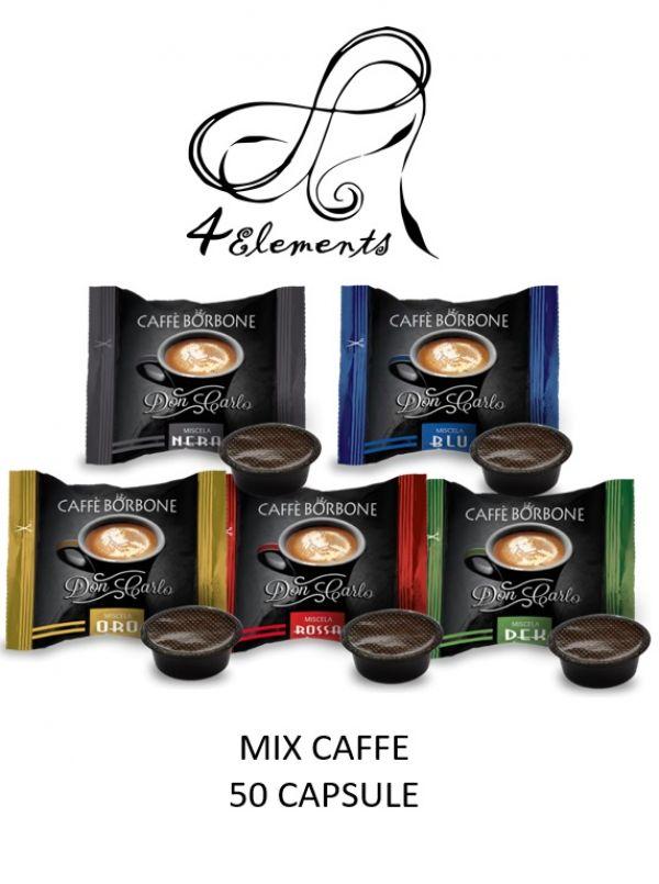 50 CAFFÈ DON CARLO ROSSO