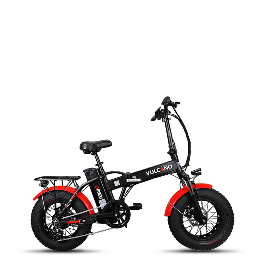 Bicicletta Elettrica Pieghevole 16 Small Fat Vulcano Little V11 350w
