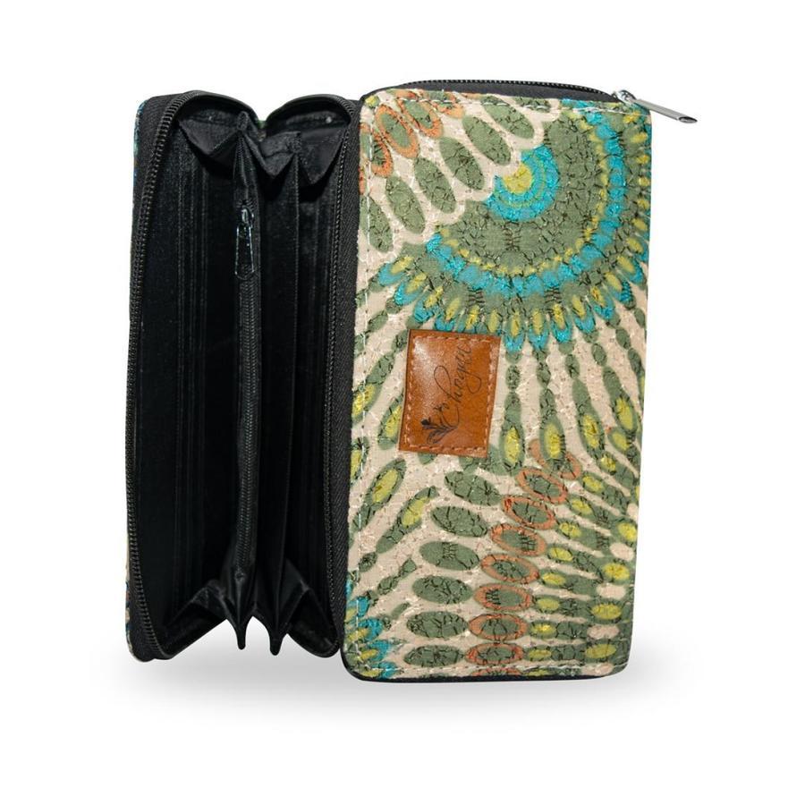 Portafoglio Mosaico Lady Magenta
