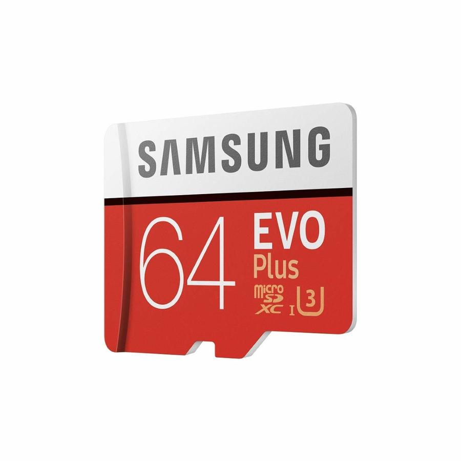 SCHEDA MICRO SD SAMSUNG EVO PLUS MB-MC32G 32 GB ROSSO BIANCO⭐⭐⭐⭐⭐