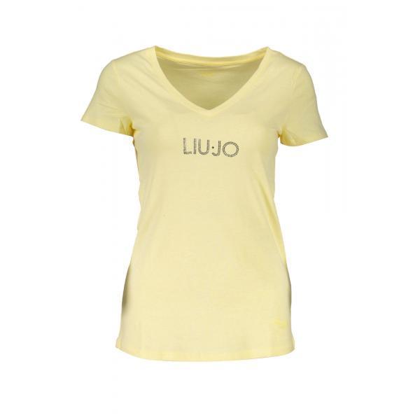 T-Shirt  Liu  Jo  Maniche Corte Donna Giallo