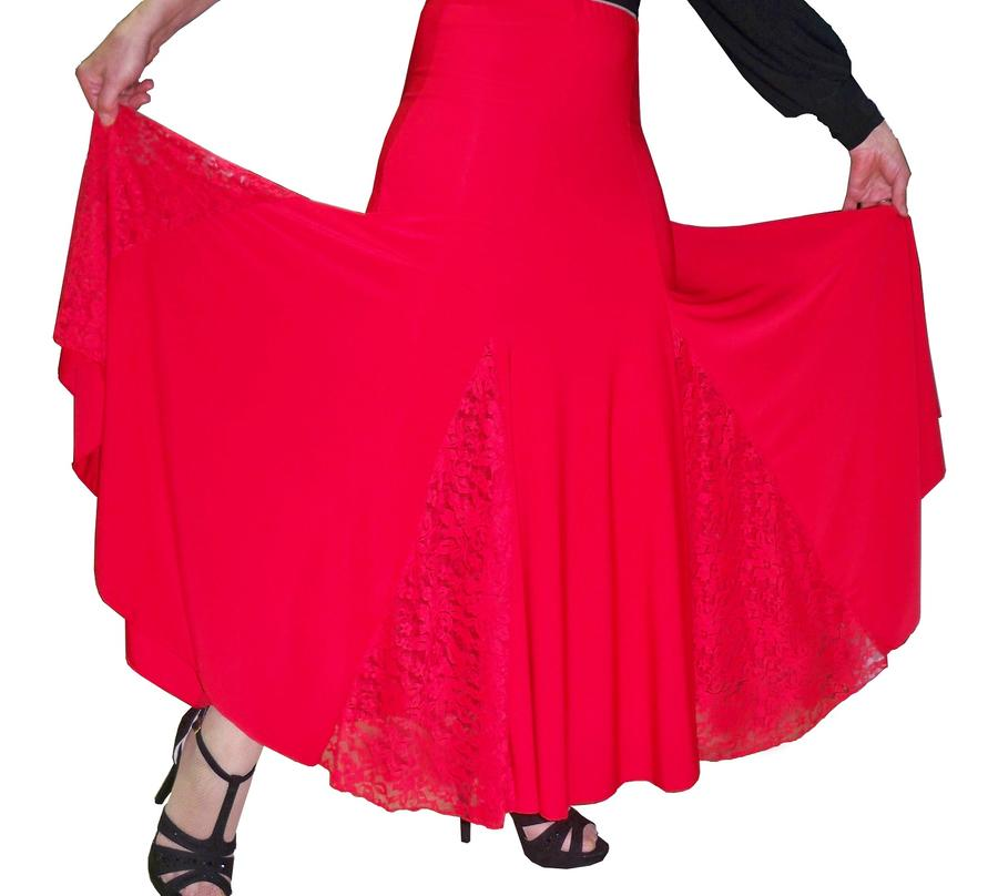 SKIRT LONG DANCE SMOOTH AND DANCES 2-0008