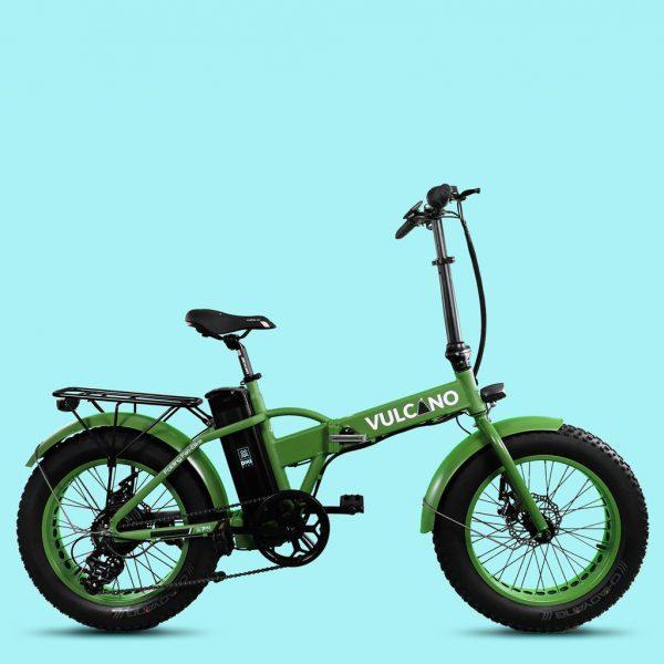 "Bicicletta elettrica Fat Bike 20"" pieghevole vulcano v3.1 500w 48v"