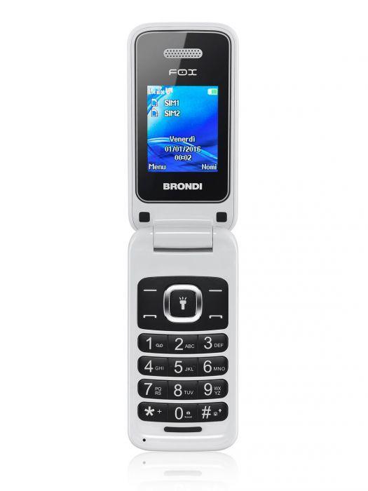 Cellulare Brondi Fox / Nero - Blu - Bianco