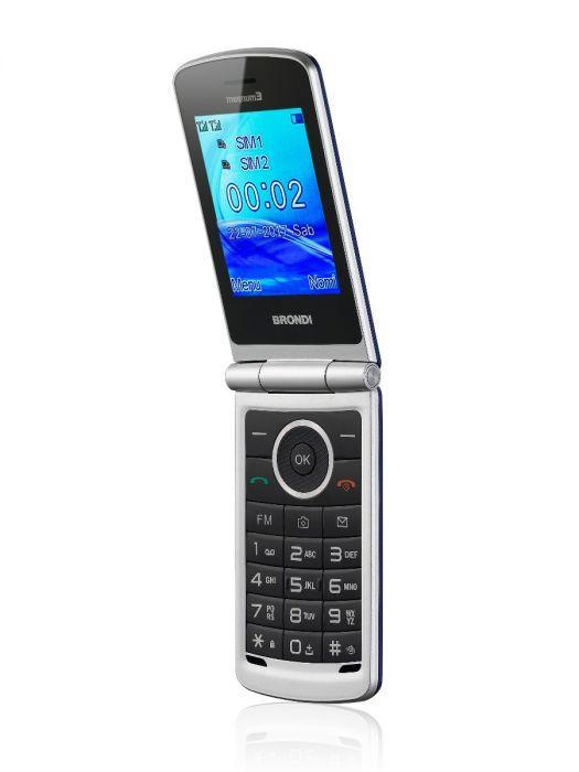 Cellulare Brondi Magnum 3 / Nero - Bianco - Rosso