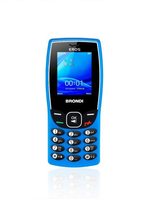 Cellulare Brondi Eros Nero - Fotocamera 1.3 Mp, Bluethoot, Dual Sim