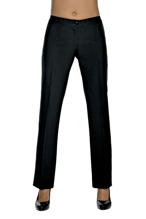 PANTALONE TRENDY STRETCH NERO 97% COTTON 3% SPANDEX