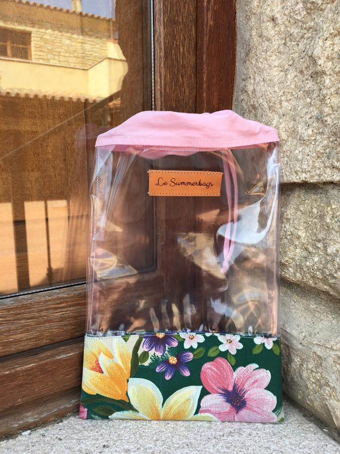 Porta creme trasparente summer set