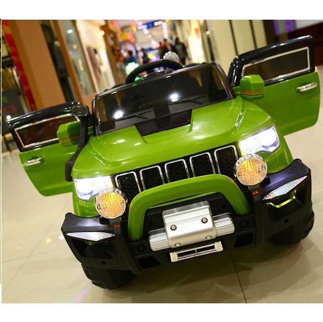 Automobile macchina elettrica per bambini JEEP usb sd mp3 2 posti 12v 4wd