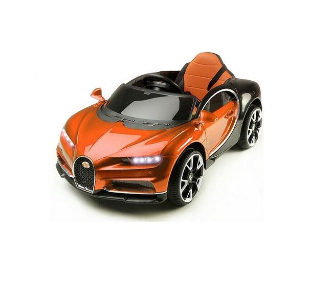 Automobile macchina elettrica per bambini BUGATTI usb mp3 monoposto 12v