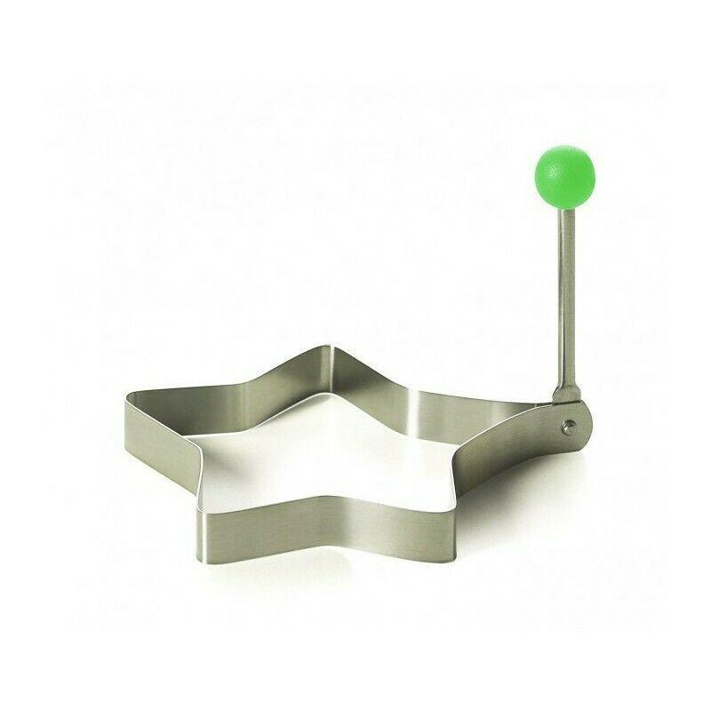 Formino Stampo per Uova Fritte da Cucina Uovo Forma in Metallo 10 cm Cuoco Chef