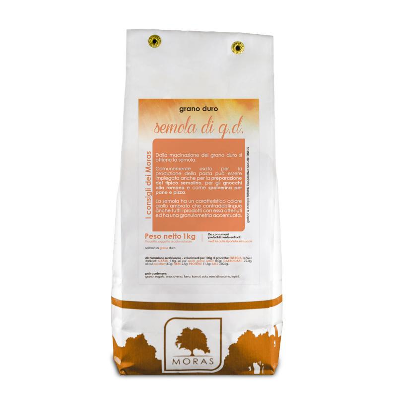 Farina di Semola di Grano Duro - 5 kg