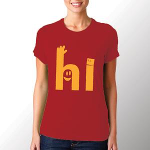 T-shirt Hi/Donna