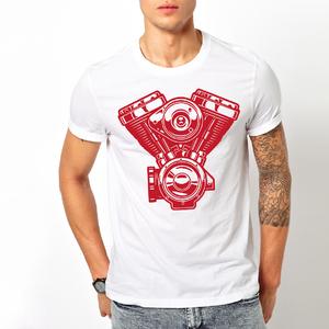 T-shirt motore Harley/Uomo
