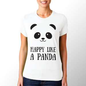 T-shirt Panda/Donna