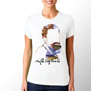 T-shirt Michelangelo/Donna