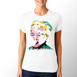 T-shirt Andy Warhol/Donna