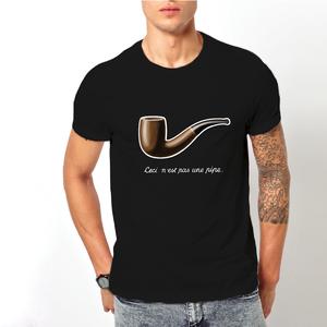 T-shirt Magritte/Uomo