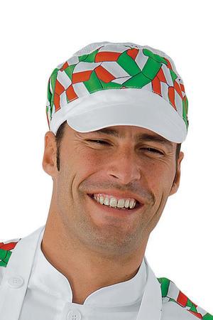 CAPPELLO CHARLY CON RETE BIANCO+ITALY 65% POLYESTER 35% COTTON 9e169f9d5bab