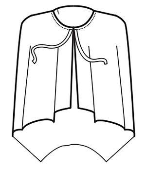 MANTELLINA SUPERDRY NERO 100 % POLYESTER