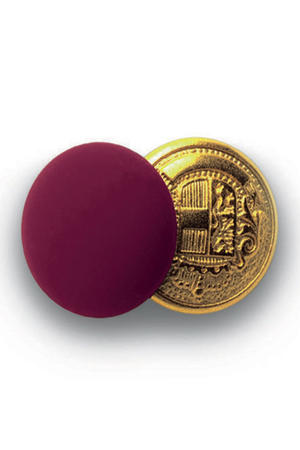 BOTTONE GEMELLO ORO+BORDEAUX CONF. 4 PZ