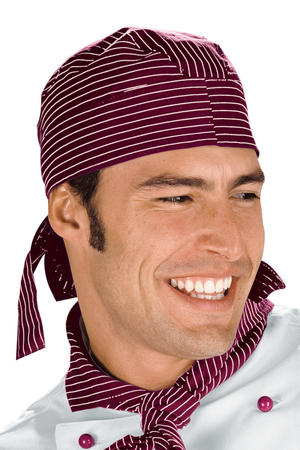 BANDANA VIENNA BORDEAUX 100 % COTTON