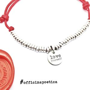 "bracciale ""LOVE yourself"