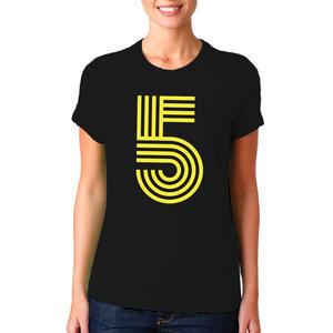 T-shirt Cinque/Donna
