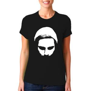T-shirt Viso in Negativo/Donna