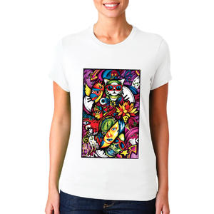 T-shirt Opera astratta/Donna