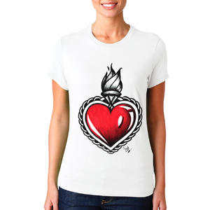 T-shirt Cuore/Donna