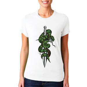 T-shirt Serpente/Donna