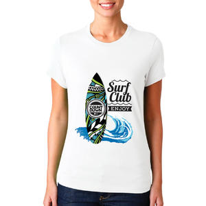 T-shirt Surf club /Donna