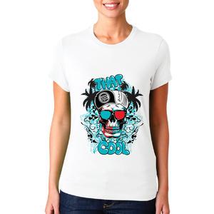 T-shirt teschio /Donna