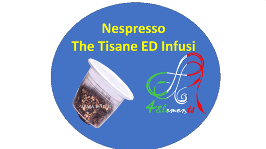 THE TISANE ED INFUSI NESPRESSO