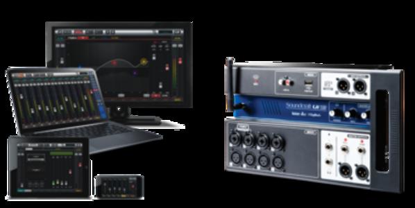 SOUNDCRAFT UI12 - Mixer Digitale Wi-Fi