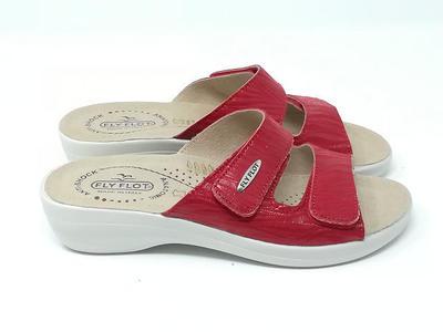 Ciabatta Soft Rosso - FLY FLOT