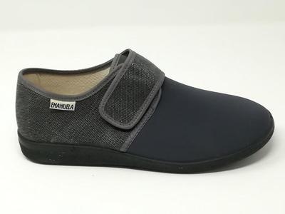 Pantofola Elasticizzata Grigio - EMANUELA