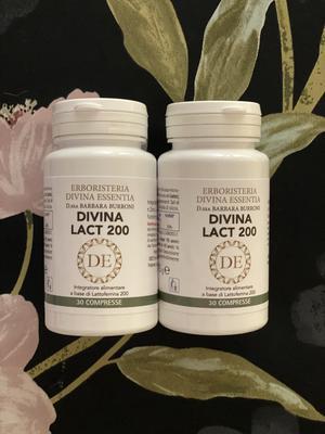 2 confezioni di lattoferrina Divina Lact 200