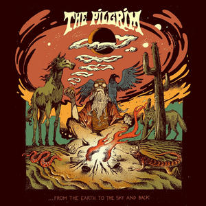 "The Pilgrim    ""....From The Earth To The Sky And Back""   LP COLORED TRANSPARENT YELLOW SPLATTER RED"