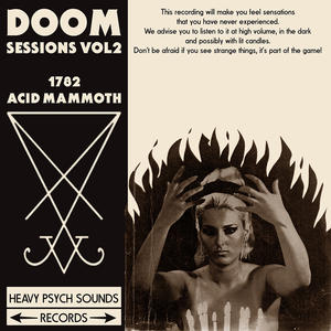 DOOM SESSIONS - Volume 2  1782/Acid Mammoth LP / DIGIPACK