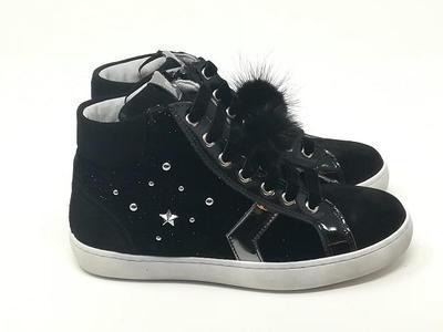 Sneaker Star Diamond - NERO GIARDINI Kids & Teens